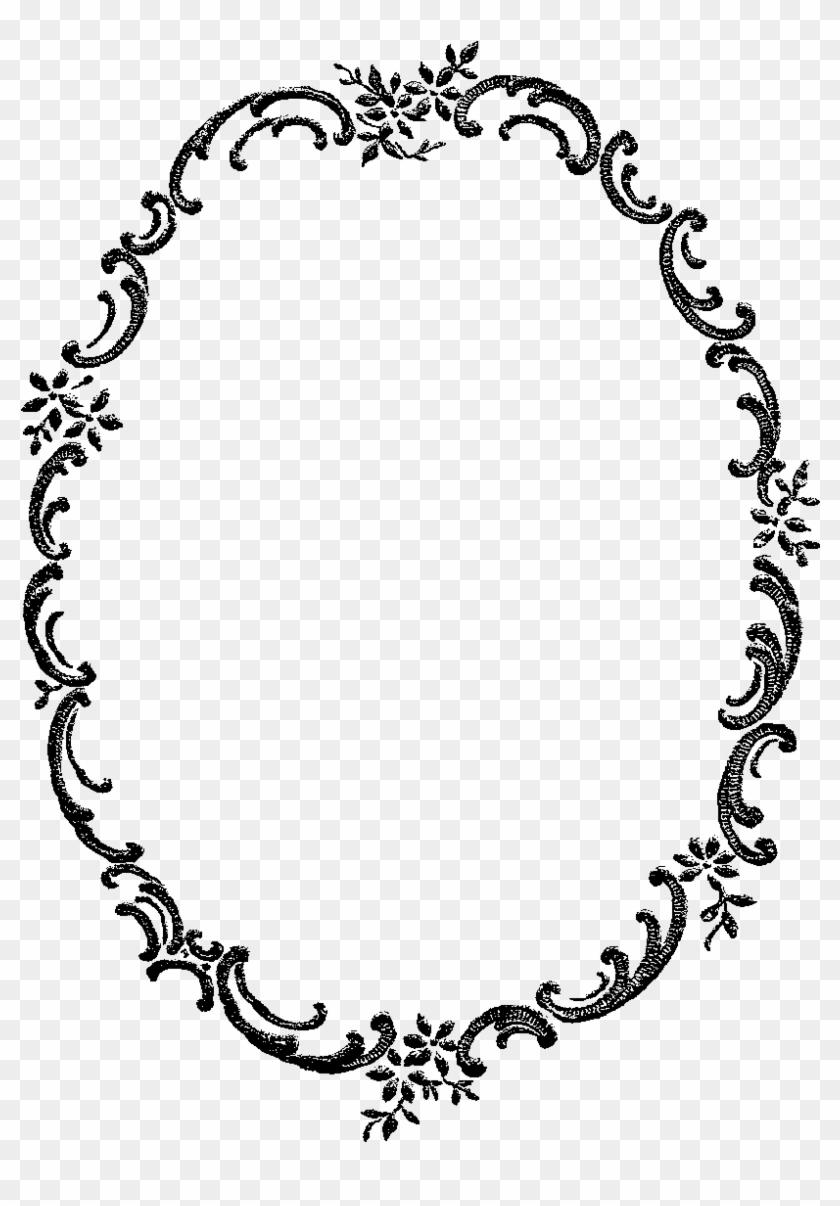 Frame Border Image Flower Fancy Download - Digital Frames Png #329713