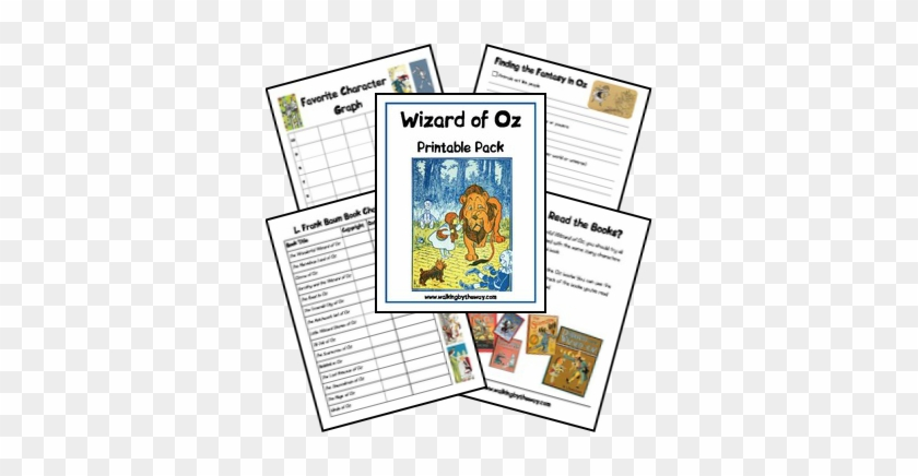 Wizard Of Oz Printable Pack Includes - Wonderful Wizard Of Oz #329758