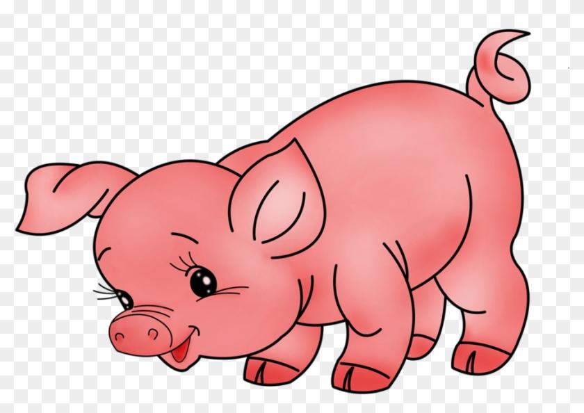Farm Animals Clipart Pig #329830