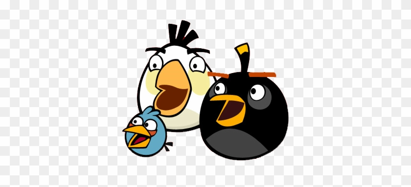 Clip Arts Related To - Angry Birds Bomb And Blue #330015