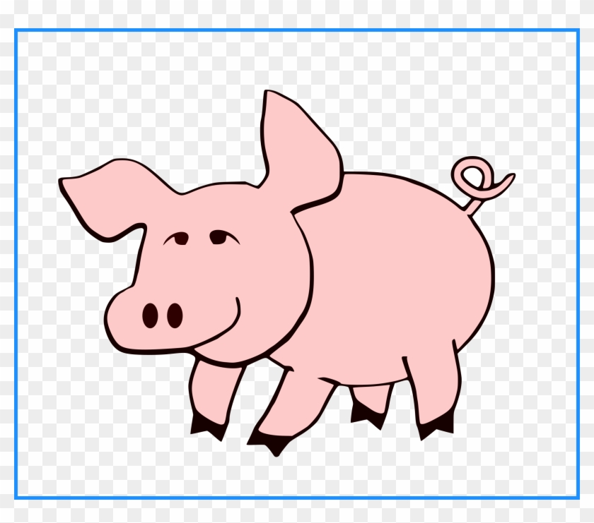 Appealing Pig Tail Clipart Collection Cute Little Pink - Cute Pig Coloring Pages #330086