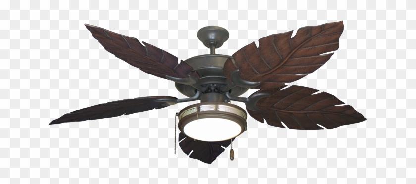 Ceiling Interesting Palm Leaf Ceiling Fan With Light - Ceiling Fan #330149