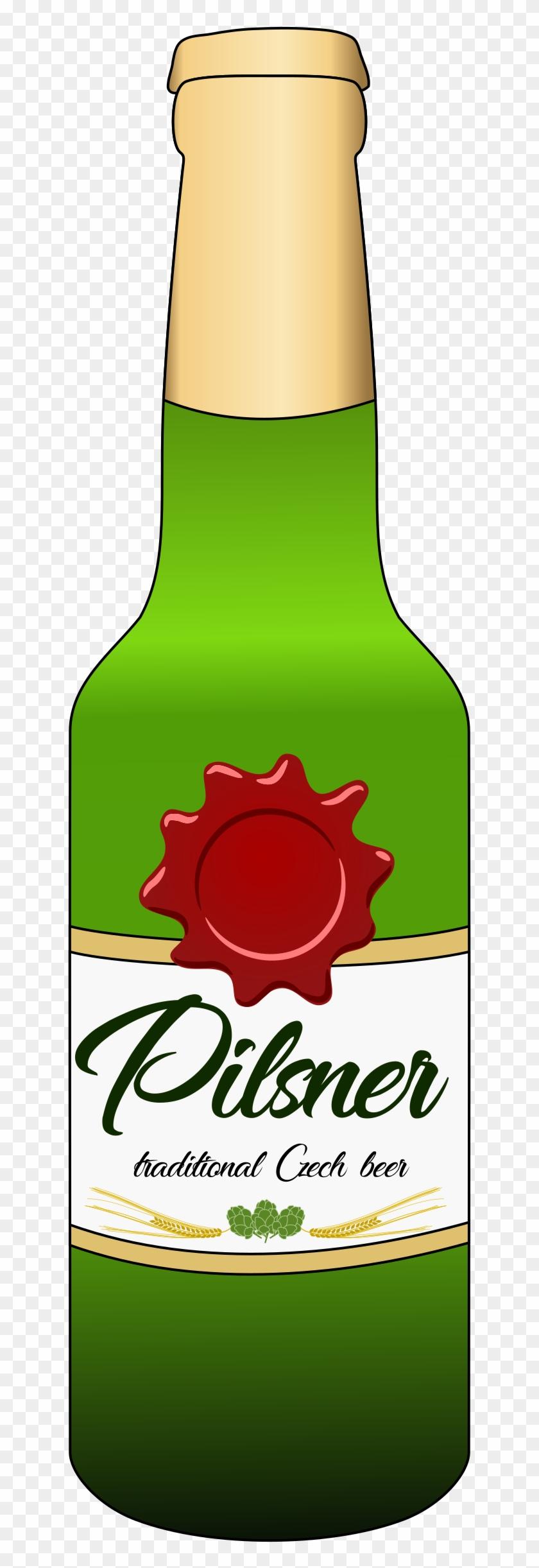 Big Image - Beer Bottle Clip Art #330331