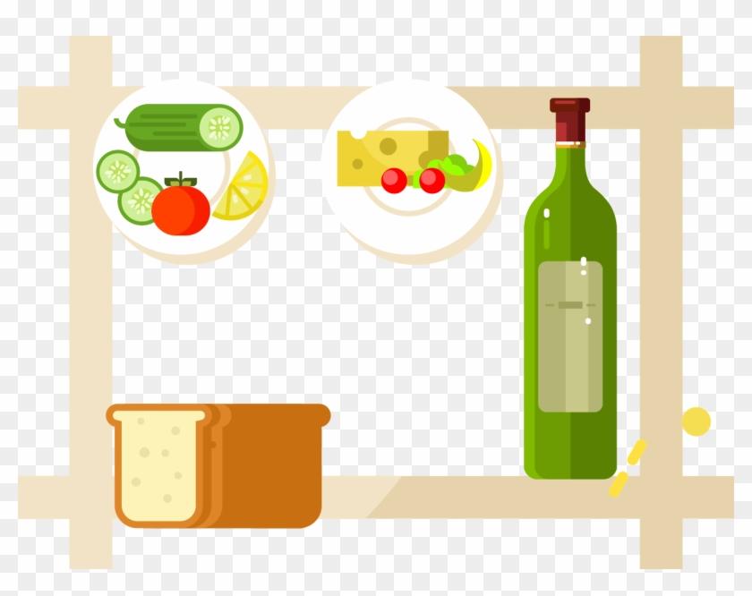 Fruit Food Clip Art - Wine Bottle #330931