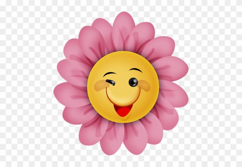 Мне Нравится Альбом «скрап Наборы / Fantasy Moments - Smiley Face Flower Clipart #331486