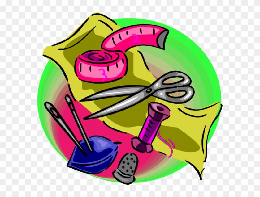 Sewing Tools Clip Art #331574