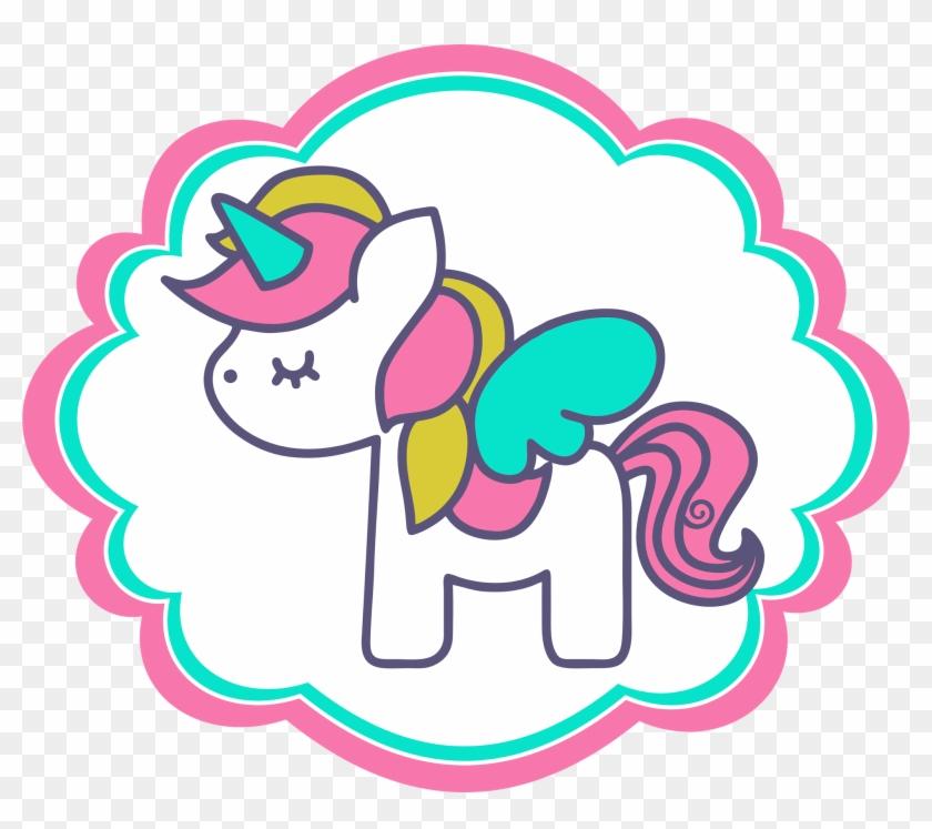 Clipart De Unicornios Para Scrapbook - Kawaii Unicorn Png #331598
