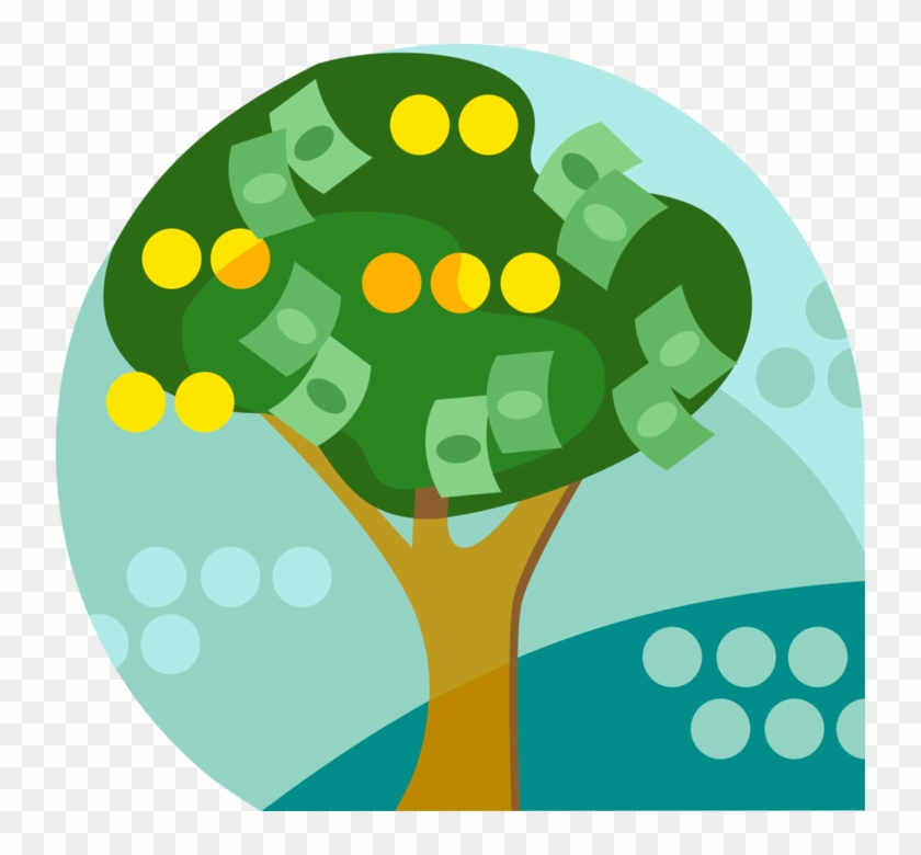 Vector Illustration Of Money Tree Conceptual Negation - Preterm Birth #331730