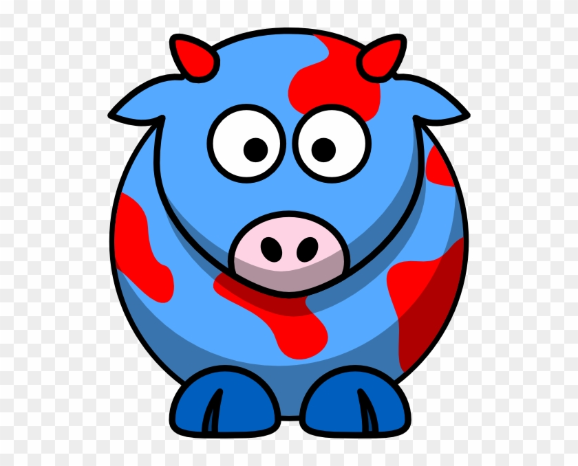 Draw Cartoon Cow - Free Transparent PNG Clipart Images Download