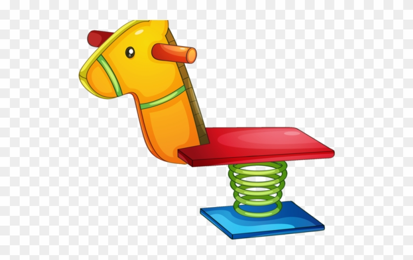 Playground Clipart Toy - Playground Equipment Clip Art #332109
