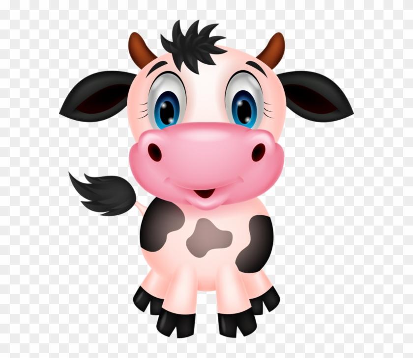 Funny Cowsfunny - Cute Farm Animal Clipart #332394
