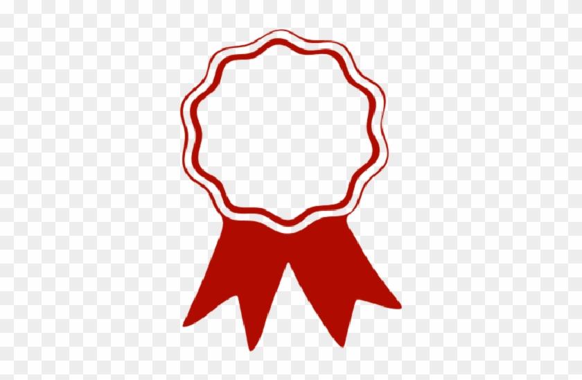 Png Award Ribbon *1* By Nhikute1411 - Award Ribbon Red #332468