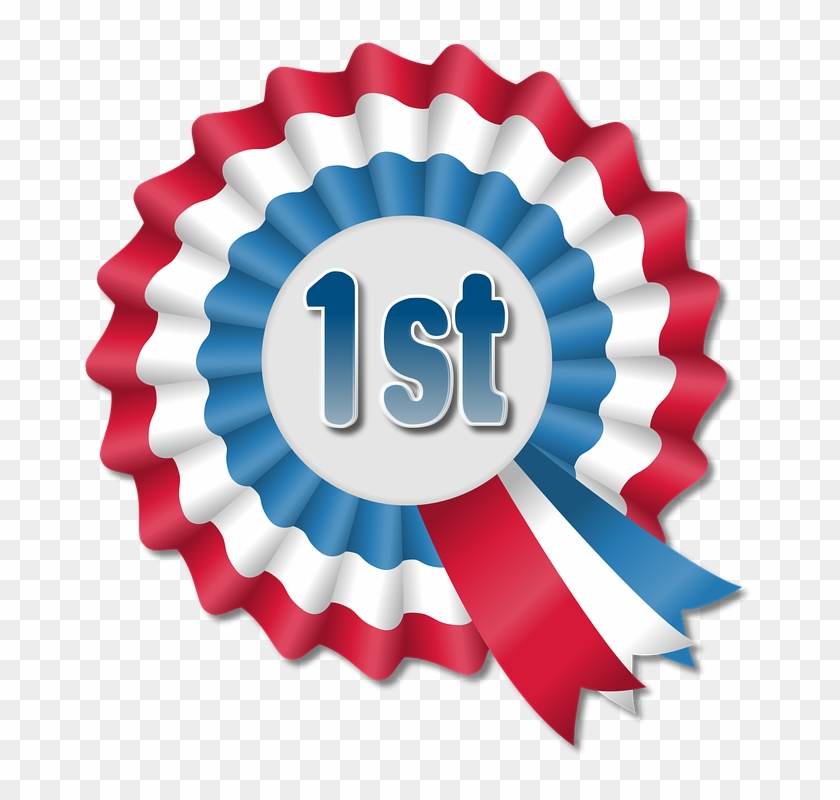Award Ribbon Cliparts - First Prize Rosette #332523