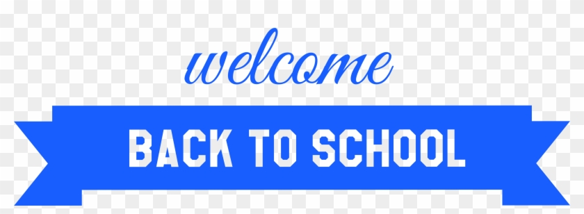Cool Clip Art Welcome Back Medium Size - Welcome Back To School Banner Png #332546