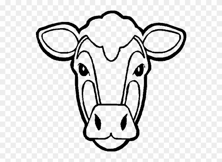 Inek-3 - Cow Coloring Pages - Free Transparent PNG Clipart ...