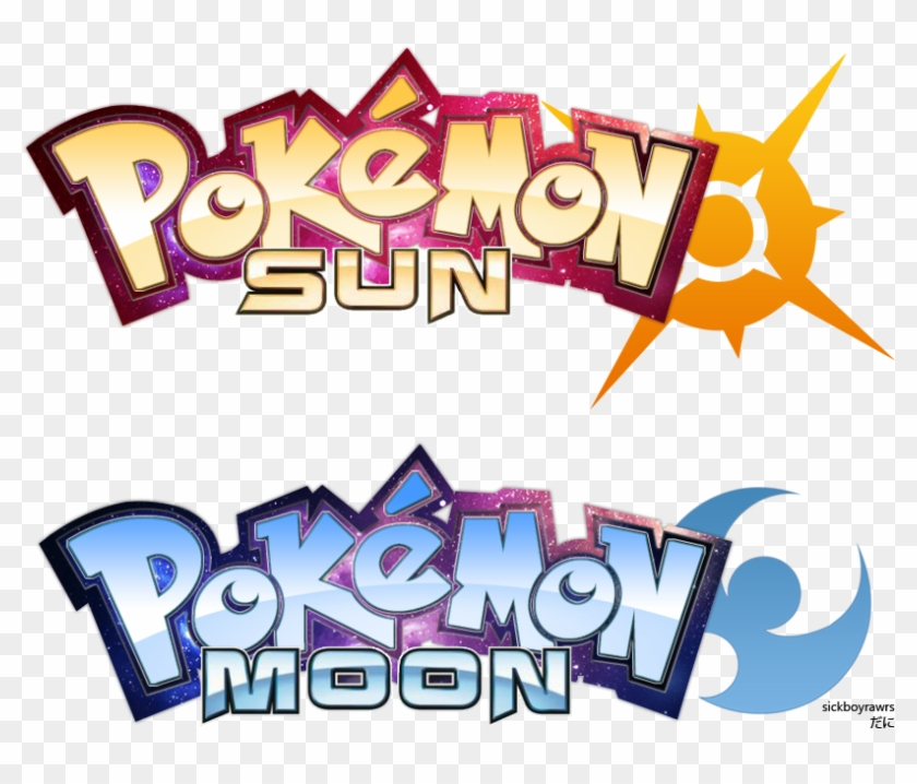 pokemon sun moon by sickboyrawrs pokemon sun and moon anime logo