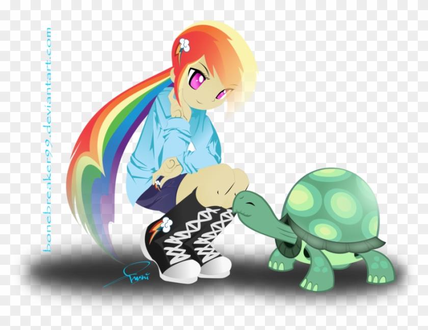 Rainbow Dash Human - Rainbow Dash Cute My Little Pony #333328