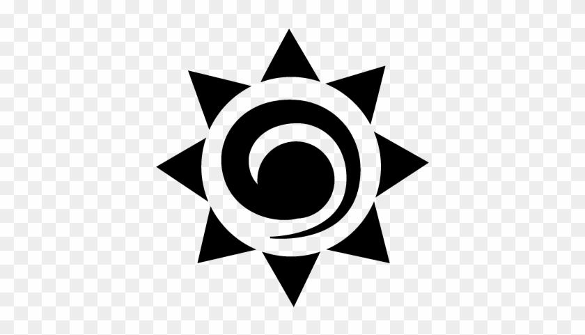Sun Mexican Symbol Vector - Mexican Symbol #333404