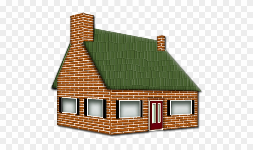 Brick House Clipart Black And White House Made Of Bricks Clipart