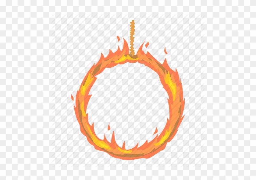 Cartoon Fire Png - Ring Of Fire Cartoon #333693