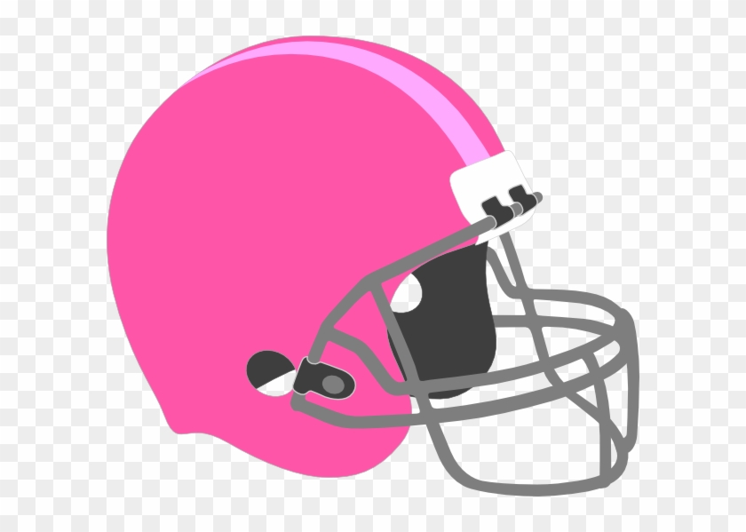 Free Football Cliparts Pink, Download Free Clip Art, - Helmet And Football Drawing #333732