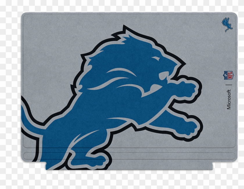 Microsoft Surface Pro 4 Detroit Lions Type Cover - Bexley High School Logo #333742