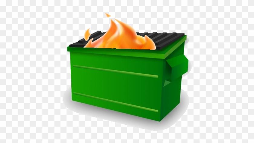 Dumpsterfire Fantasy Football - Dumpster Fire Emoji Slack #333746