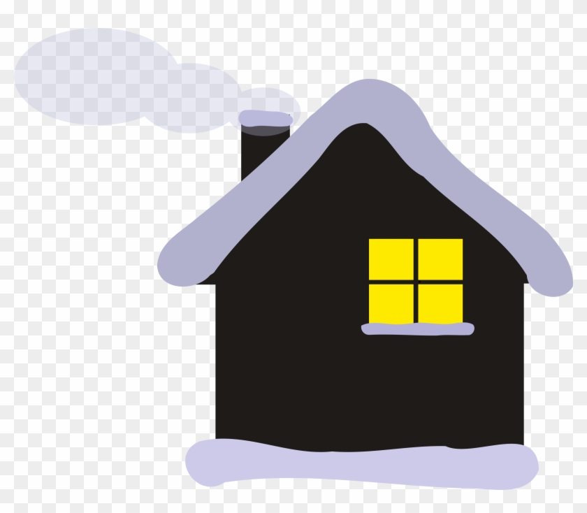 Traditional Japanese Shop - Winter Cottage Clipart #333822