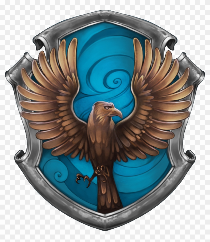 Ravenclaw Is One Of The Four Houses Of Hogwarts School - Harry Potter Ravenclaw Symbol #333847