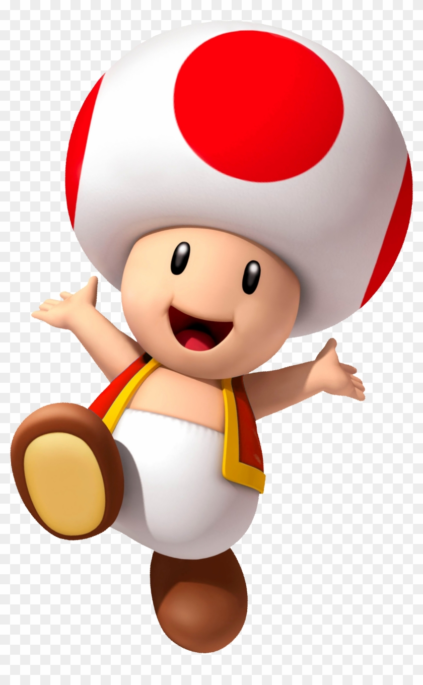 Super Mario Odyssey Toad - Free Transparent PNG Clipart