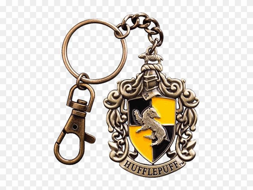 Of The Four Hogwarts Houses - Hufflepuff Crest Key Chain #333862