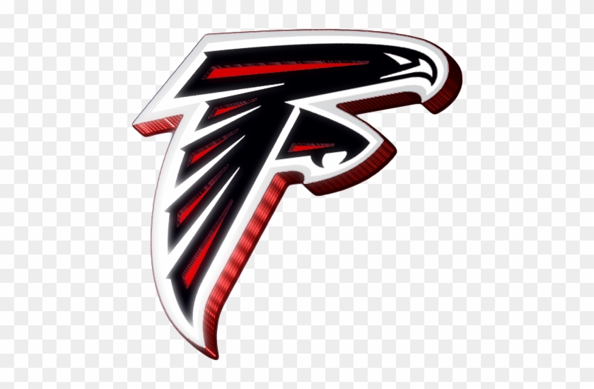 Falcons Logo Clipart Atlanta Falcons 3d Logo Free Transparent