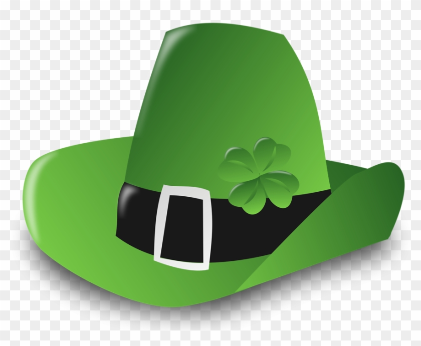 Leprechaun Hat 6, Buy Clip Art - St Patrick's Day March 2018 Calendar #334269