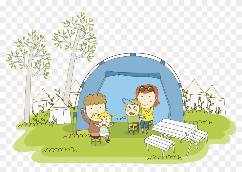Tent Camping Illustration - Tent #334368