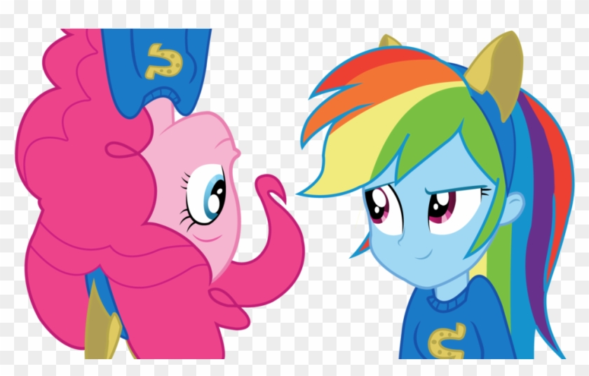 Rainbow Dash And Pinkie Pie From Equestria Girls By - Pinkie Pie And Rainbow Dash Equestria Girls #334661