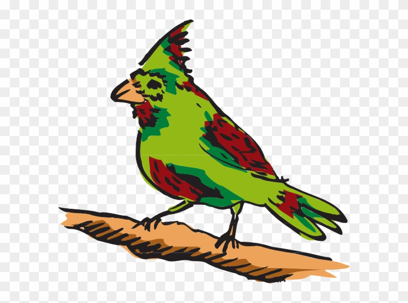 Bird Perched Clipart #335082