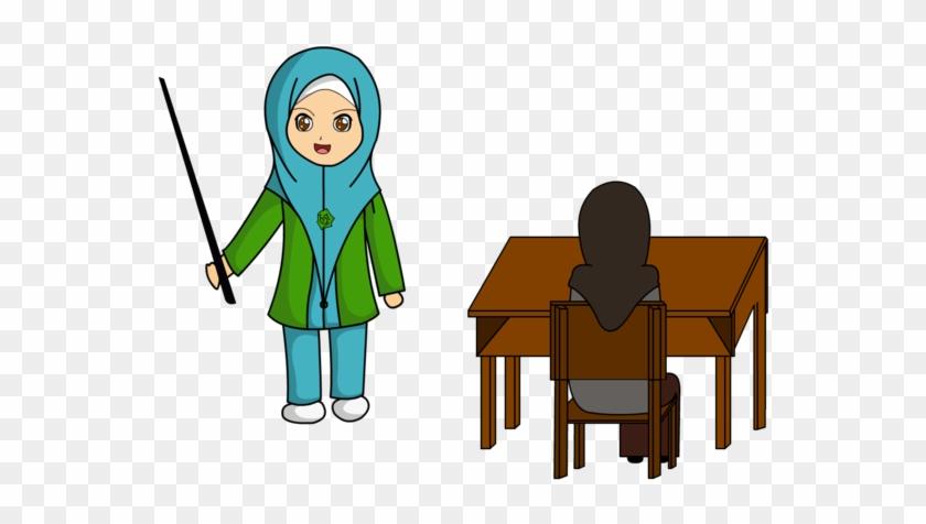 Peralatan By Difira Guru Dan Murid By Difira Animasi Guru Free Transparent Png Clipart Images Download