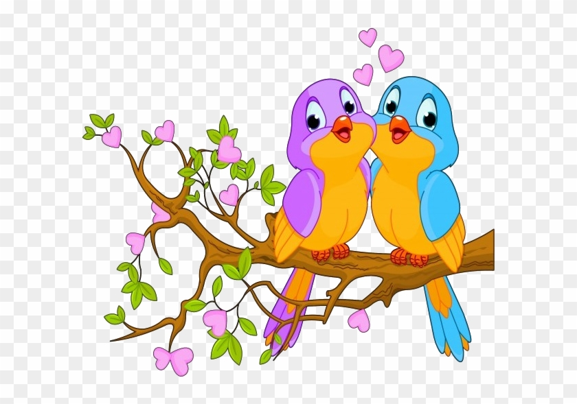Cute Love Birds Cartoon Clip Art Images - Whatsapp Profile Picture Download #335325