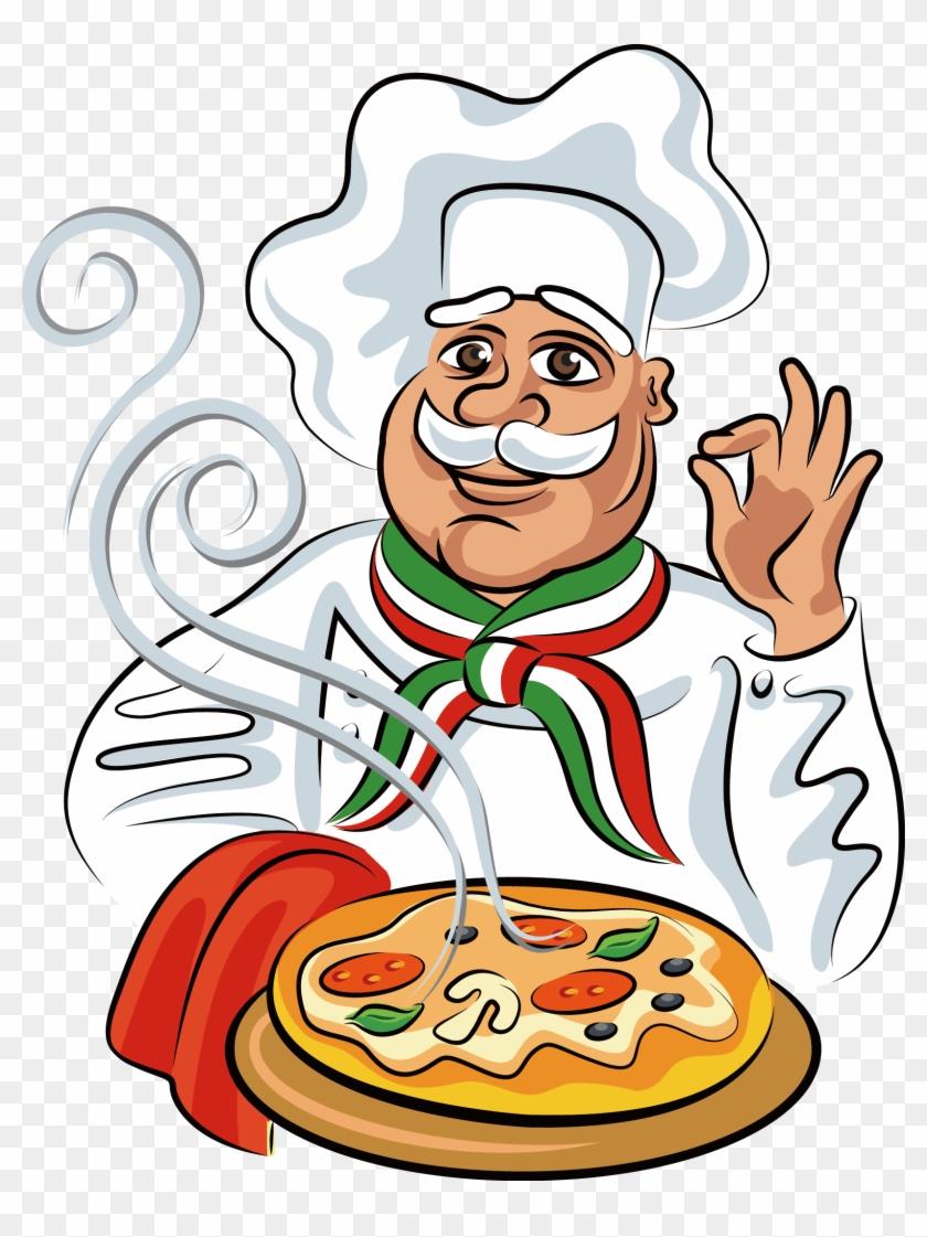 картинка повара с блюдом в руке пнг компанию сдал