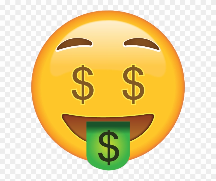 Money Face Emoji Free Transparent Png Clipart Images Download