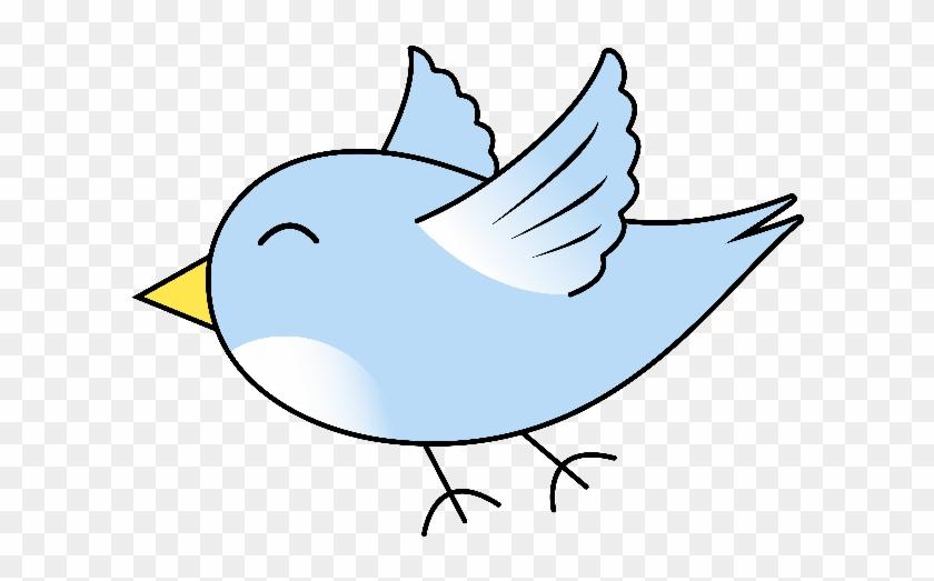 Flying Bird Cartoon - Cute Flying Bird Cartoon #336073