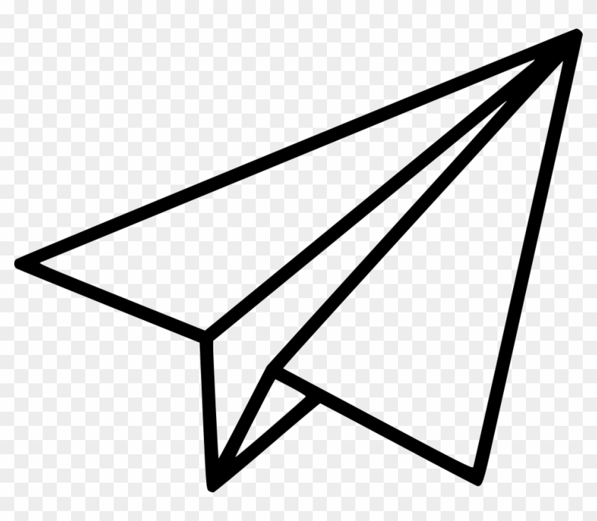 Pin Paper Airplane Clipart - Paper Airplane Clip Art #336340