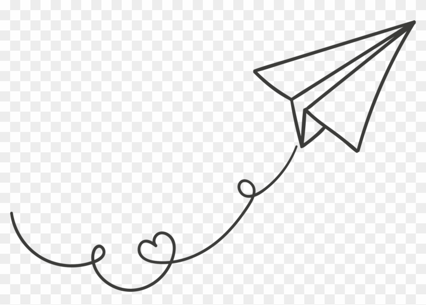 Paper Airplane Transparent Background