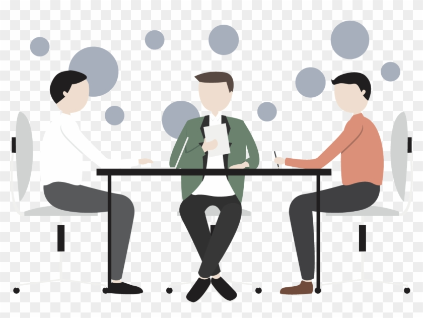 Vector Business Meetings - Business Meeting Vector Png #336675