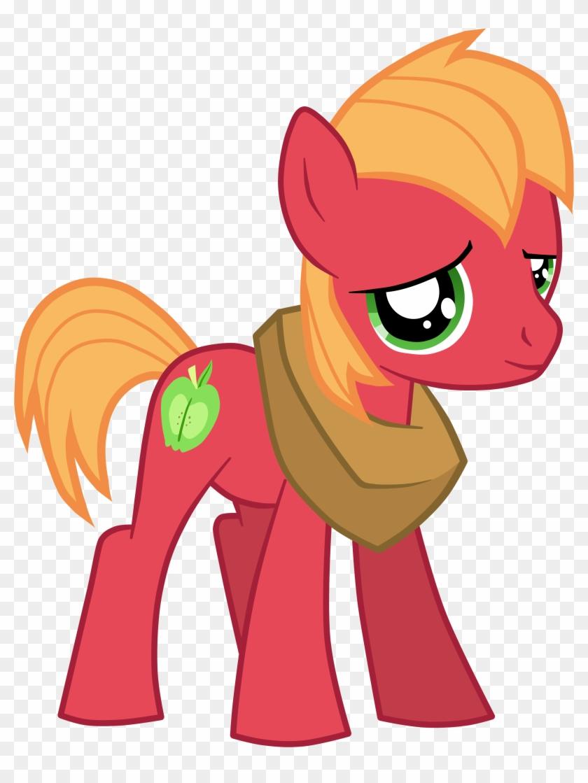 Jennieoo, Big Macintosh, Colt, Earth Pony, Male, Pony, - Mlp Young Big Mac #336715
