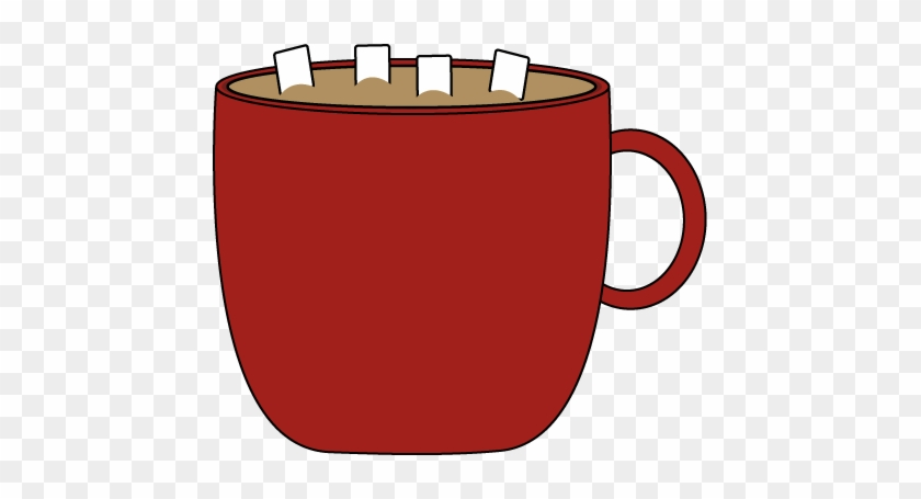 Red Cup Of Cocoa - Mug Of Hot Chocolate Clipart #336829