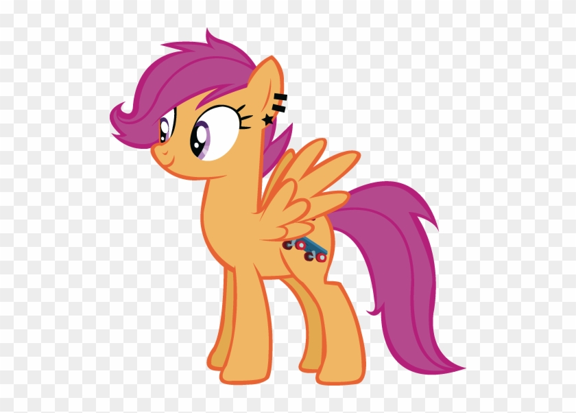 My Little Pony Friendship Is Magic Wallpaper Probably My Little Pony Scootaloo Free Transparent Png Clipart Images Download