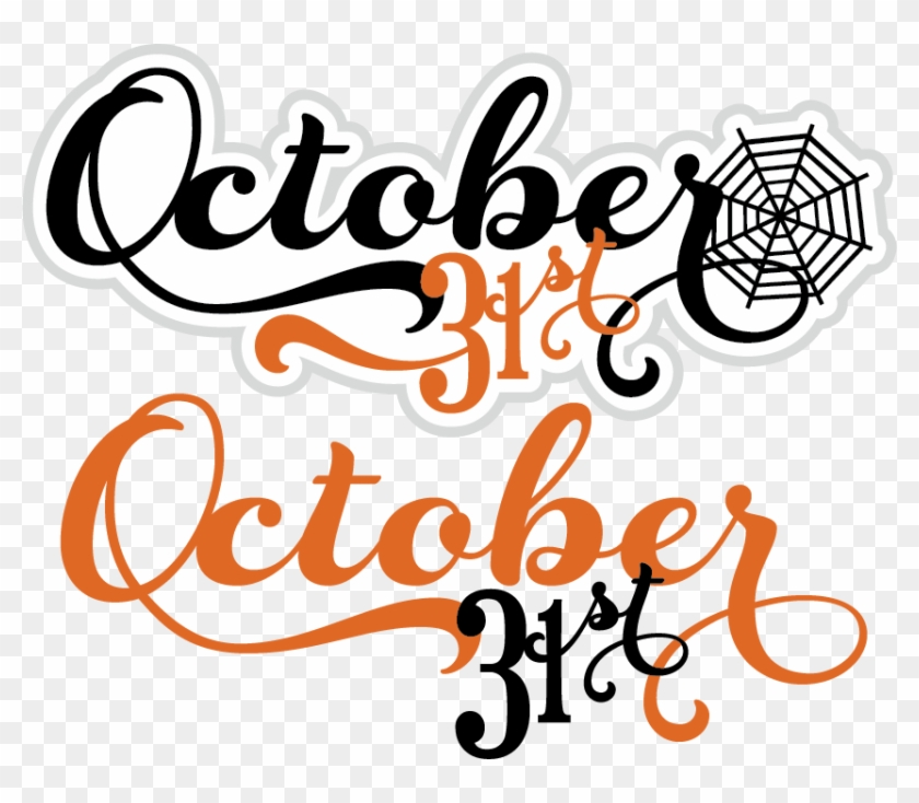 October Clipart Free - October 31 Clip Art #337308