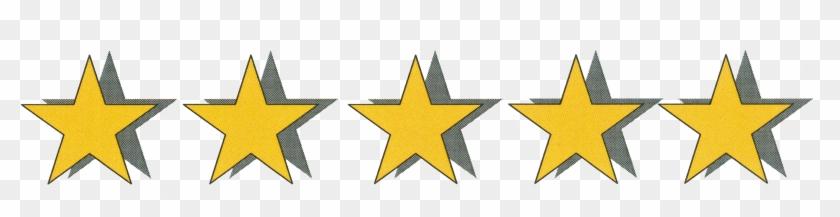 Delectable 5 Star Clip Art Medium Size - 5 Stars Rating Gif #337900
