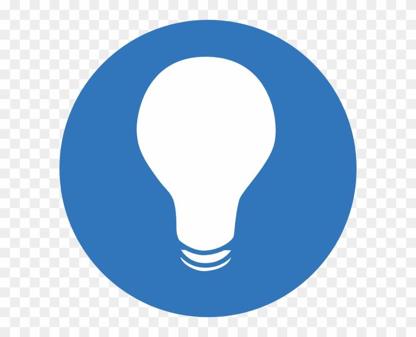 Switch Light Bulbs - Blue Light Bulb Clipart #337955